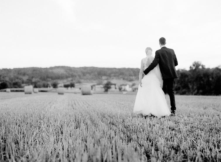 Hochzeit im Kornfeld