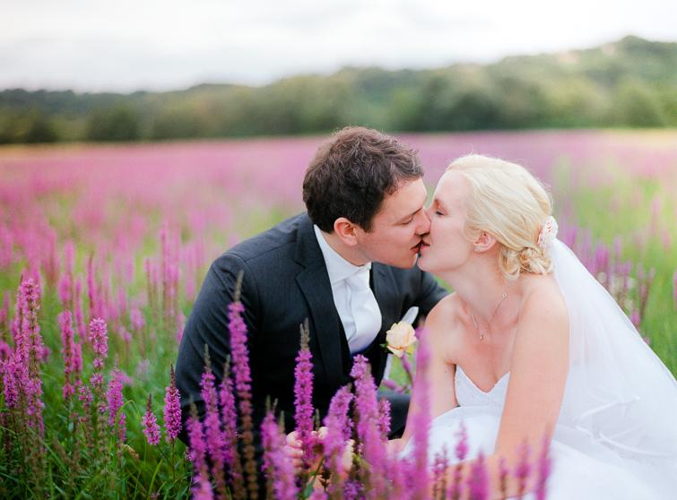 Violette Blumenwiese Hochzeit hochzeit im burgenland