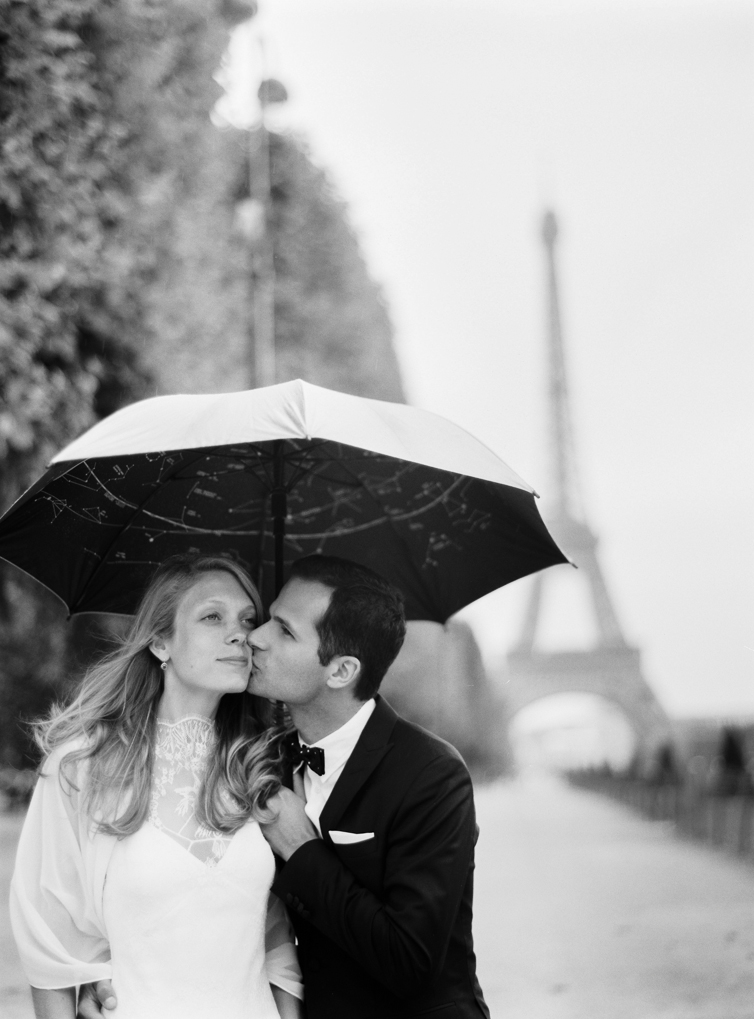 Umbrella, Paris, Wedding Image, Eifel Tower