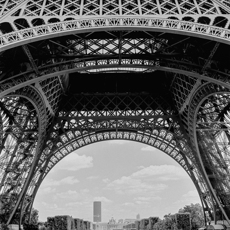 Detail, Eifel Tower, Paris