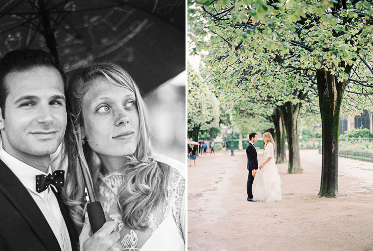 In love at Notre Dame, Wedding Shooting, Paris