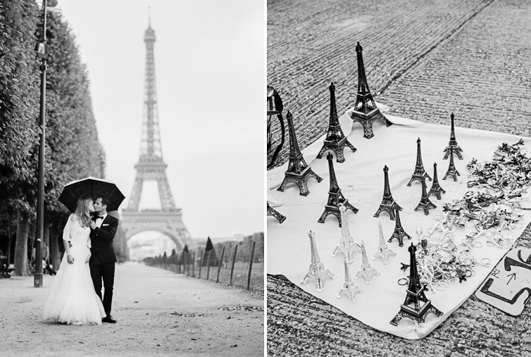 In love in Paris, Eifel Tower
